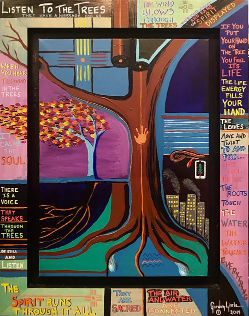 Gordon Little | Listen To The Trees | 2D