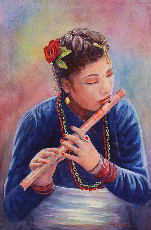 Anita Rancatti   Flute Player   2D