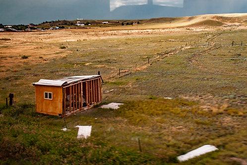 Judith Leckrone Lee | Abandoned Shack, Shelby, Montana | Photography