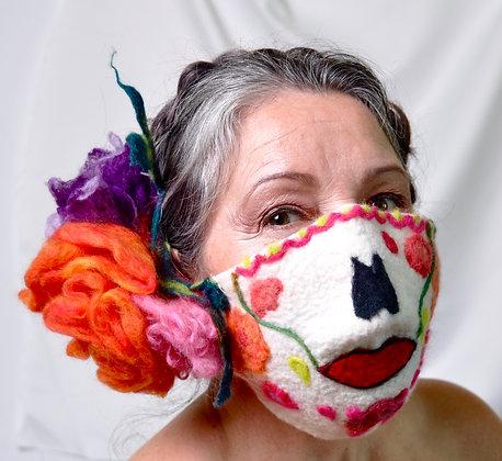 Veronica Lund   La Catrina - Mask and Flower Piece