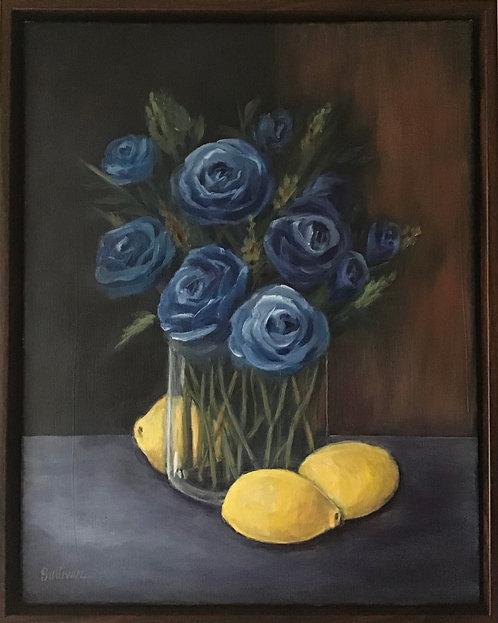 Donna Sullivan   Blue and Lemon   2D