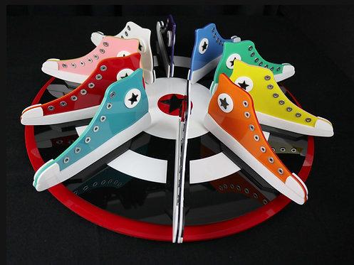 Lollie Ortiz | Rainbow Sneakers | 3D