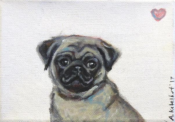 Angie Ketelhut   Pug Love