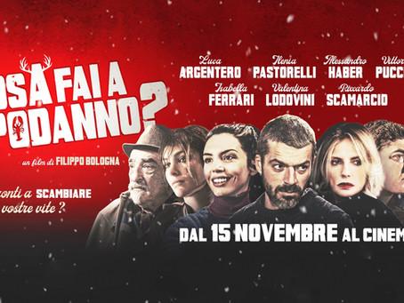 """Marco Maccarini e Marina Minetti nel film """"Cosa fai a Capodanno"""""""