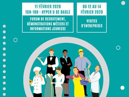 ►Les Rendez-vous pour l'emploi - du 11 au 14 février - Baule