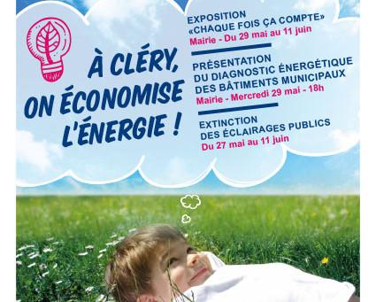 ►Semaine Européenne du Développement Durable : À Cléry, on économise l'énergie!