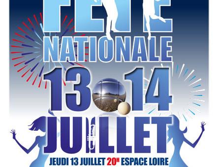 ► Fête Nationale : Le bal est de retour !     Jeudi 13 juillet - 20h - Espace Loire
