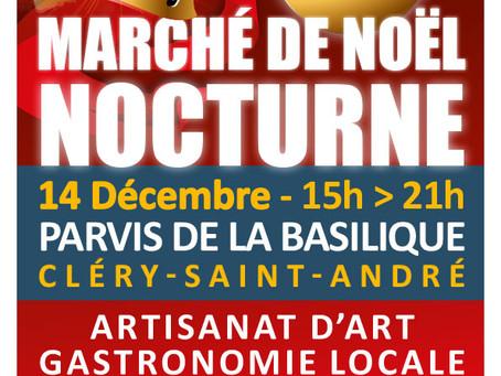 ►Grand Marché de Noël / + de 40 exposants! - Vendredi 14 décembre 15h - 21h - Parvis de la Basilique