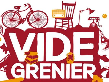 ►Vide Grenier - Dimanche 5 mai - Espace Loire
