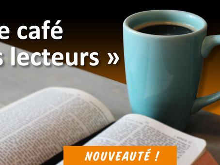 """►""""Le Café des Lecteurs"""" - Samedi 4 mai 2019 - 9h30 - 12h - Bibliothèque municipale"""