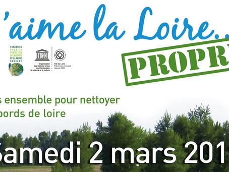 ►« J'aime la Loire Propre » : Samedi 2 mars!