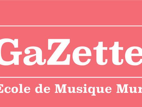 ►La Gazette de l'École Municipale de Musique est en ligne!