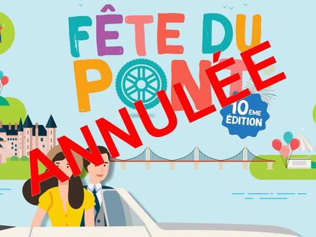 Annulation de la Fête du Pont et des Échappées à Vélo