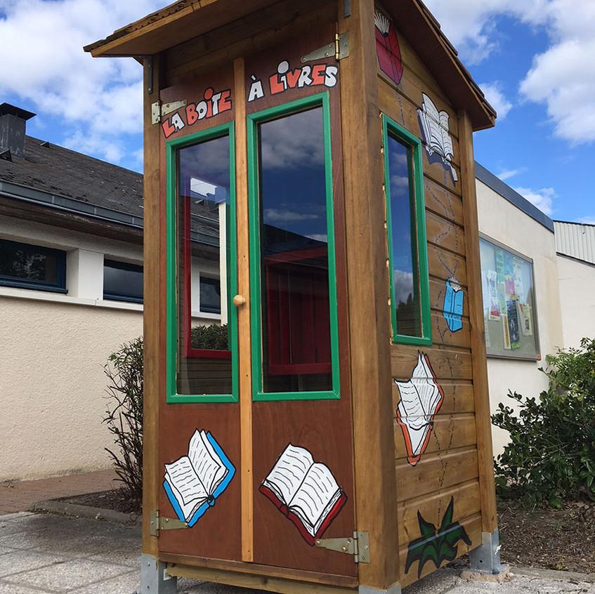 La boîte à livres de l'Espace Loire