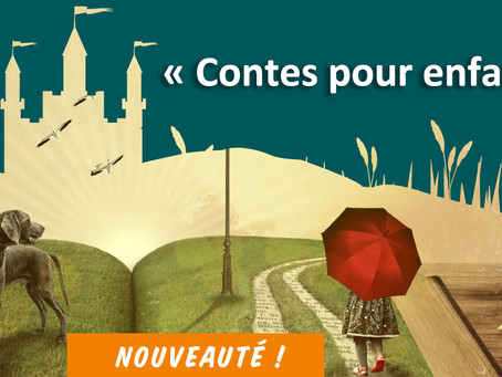 """►""""Contes pour enfants"""" - Mercredi 29 mai 2019 - 17h - 17h30 - Bibliothèque municipale"""