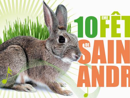 ►10e Fête de Saint-André! Dimanche 23 juin - 10h - 17h - Place de Saint-André