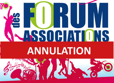 ANNULATION - Forum des associations