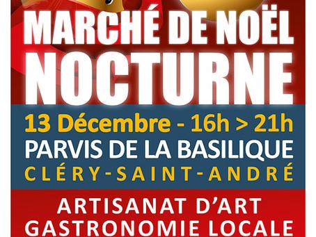 ►Grand Marché de Noël - Vendredi 13 décembre 16h > 21h - Parvis de la Basilique