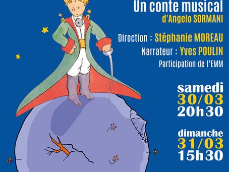 ►Harmonie de Cléry - Concert de printemps - Samedi 30 & Dimanche 31 mars - Espace Loire