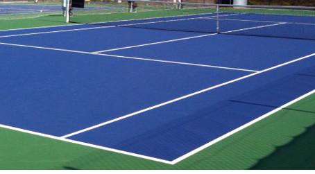 ►Courts de tennis indisponibles pour rénovation