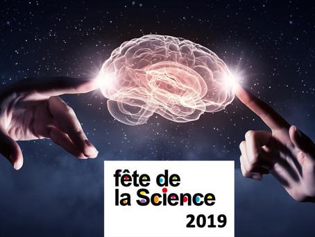 """►Fête de la Science : Conférence """"Notre cerveau, cet inconnu"""" - Vendredi 11 octobre - 20h3"""