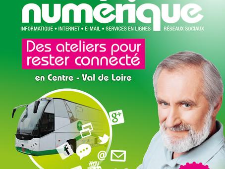 Le bus numérique à Cléry-Saint-André !