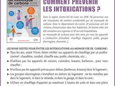 ►Monoxyde de carbone : Comment prévenir les intoxications?