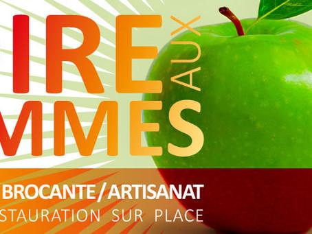 ►Foire aux Pommes : 33e édition! - Weekend du 19 & 20 octobre - Base de loisirs du Pré des Gains