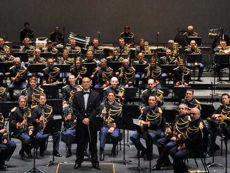 ►Concert de l'Orchestre d'Harmonie de la Garde Républicaine - Salle polyvalente de Mareau-au