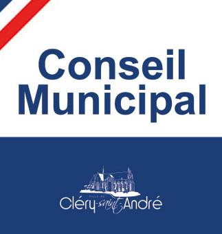 Conseil Municipal - Lundi 19 octobre - 19h30 - Espace Loire