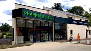 ►La nouvelle pharmacie de Cléry est ouverte