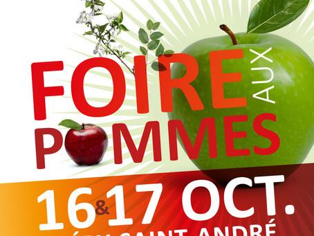 Foire aux Pommes - Samedi 16 & Dimanche 17 octobre - Base de loisirs du Pré des gains