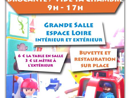 ►Vide ta chambre! - Dimanche 3 novembre - Espace Loire - 9h > 17h
