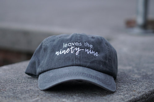 """Leaves The Ninety-Nine"" - Hat"