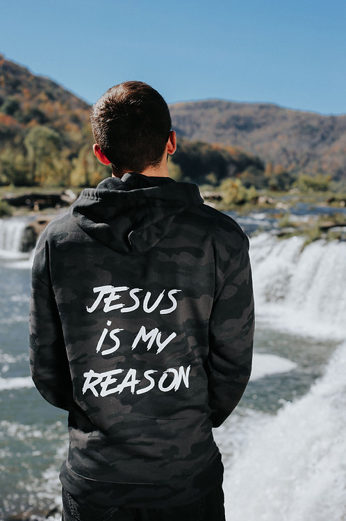 """Jesus Is My Reason"" - Hoodie"