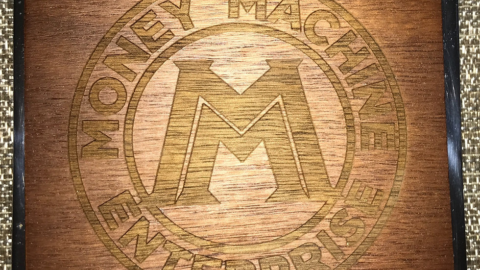 M.M.E. Logo Carved in Wood (5)