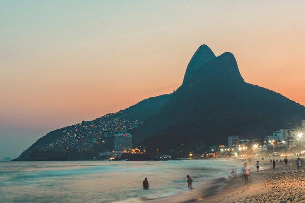 Quadro Rio Sunset