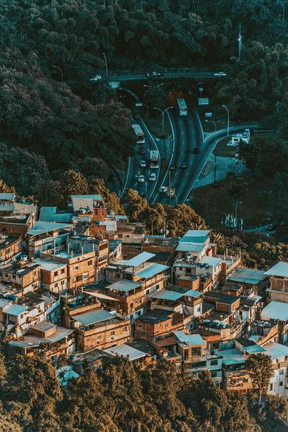 Quadro Rio Constraste