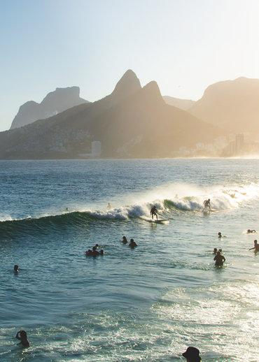 Quadro Surf Arpoador