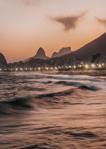 Quadro Sunset Carioca
