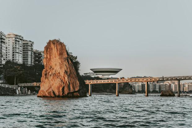 Quadro Niterói pelo mar