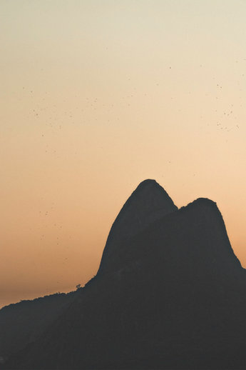 Quadro Silhuetas do Rio