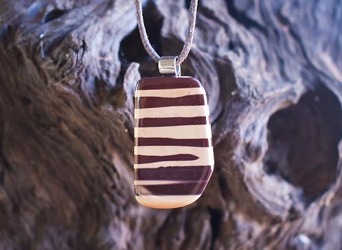 Zebra Pendant