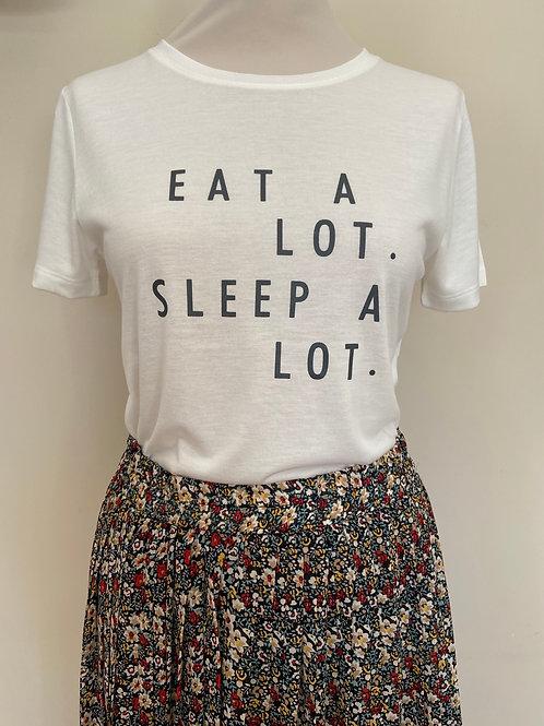 T-shirt EAT A LOT