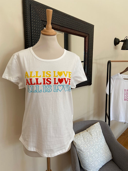 T-shirt ALL IS LOVE