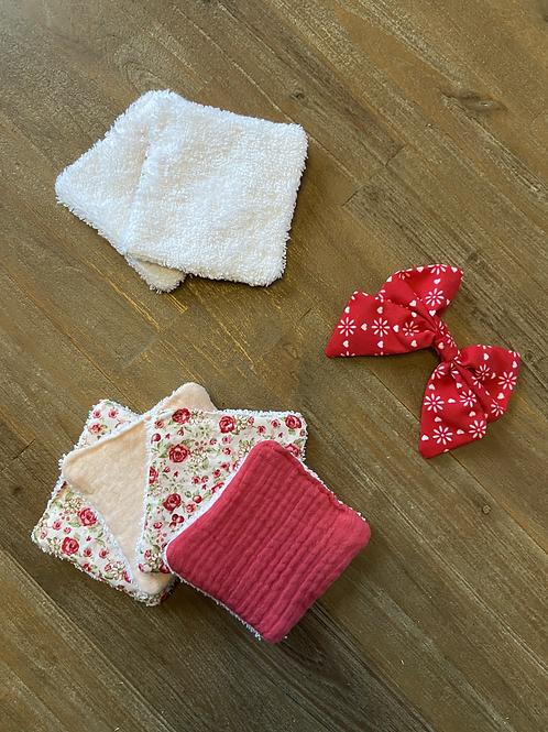 7 Cotons démaquillants lavables