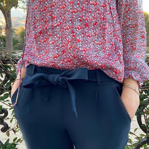 Pantalon COLETTE bleu marine