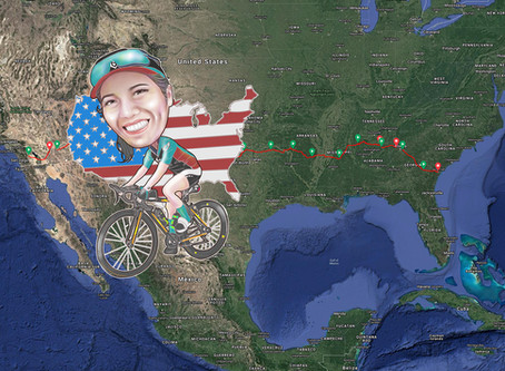 West coast to East coast in 18 days: What's it like to cycle across America