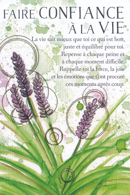 Carte de L'Oracle des messages de ton âme, de Charlotte Daynes ( Faire Confiance à la Vie ) Energies du 13 au 19 juillet 2020 : Faire Confiance à la Vie !