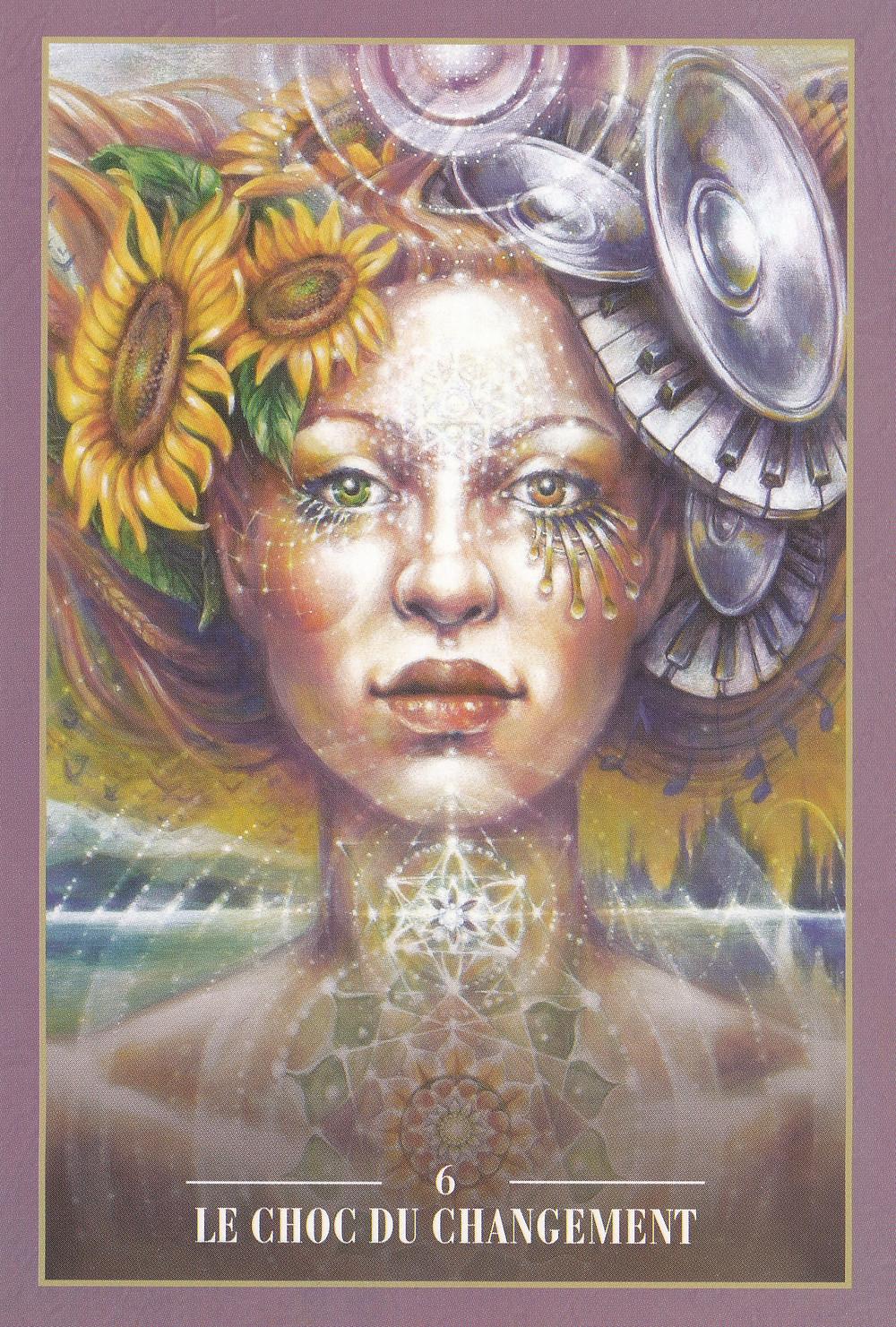 Carte de L'Oracle des Rebelles Sacrés d'Alana Fairchild - Energies du 28 au 4 octobre 2020 (Pleine Lune du 1er) : Le choc du changement : la Vérité voit le jour concrètement !